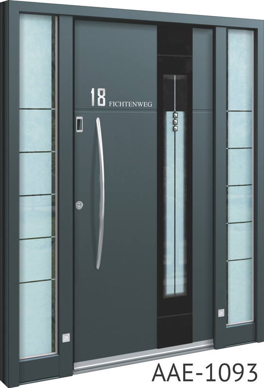Contemporary front doors & Spitfire S-500 Series Beautifully Engineered Aluminium Entrance Doors