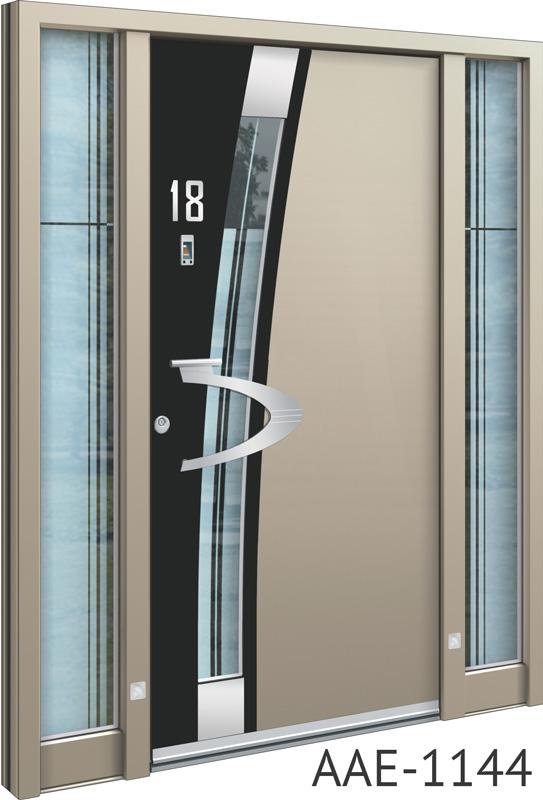 Bespoke aluminium doors