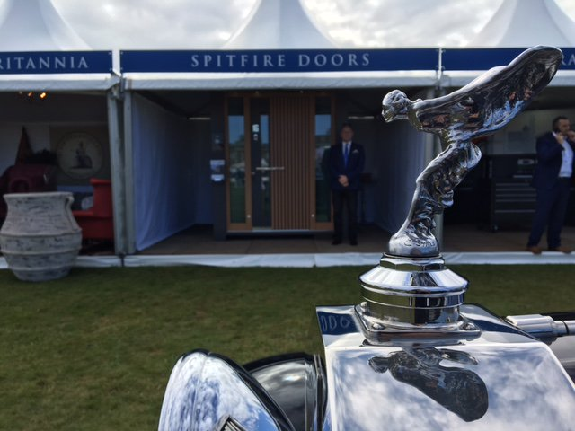 Spitfire Doors were a rip-roaring success at Salon Privé