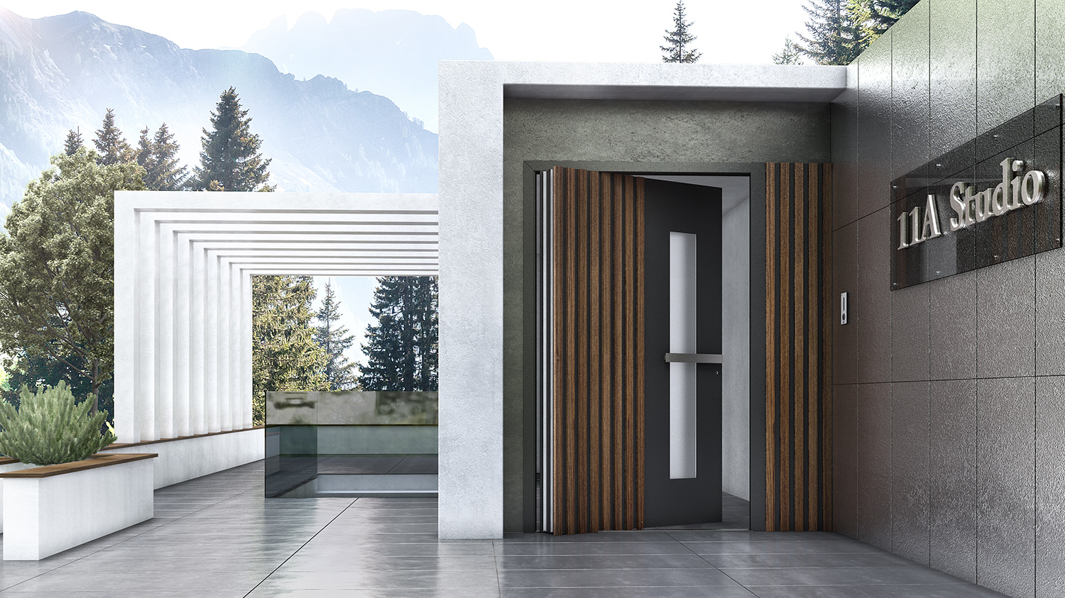 The Architects' guide to pivot doors 2020